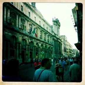 Street, Catania
