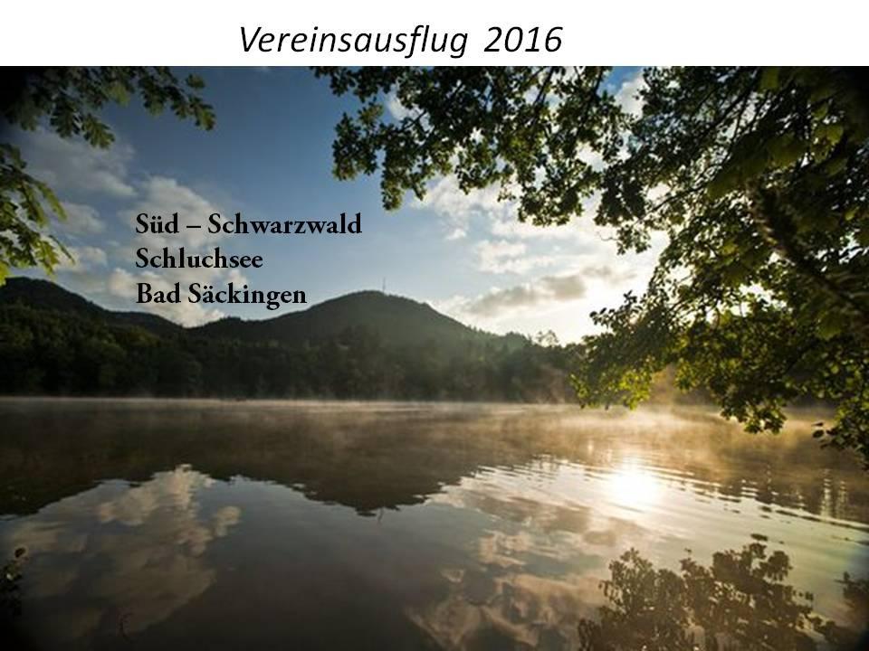 Vereinsausflug 2016
