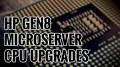 HP Microserver Gen8 CPU Upgrade