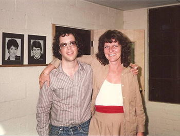 Gary and Judy in 1982