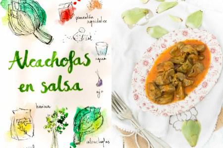 alcachofas-en-salsa-receta-ilustrada-gastroandalusi