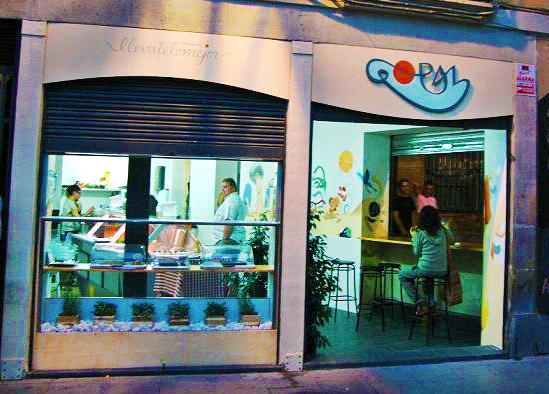 Gopal, comida vegana en Barcelona