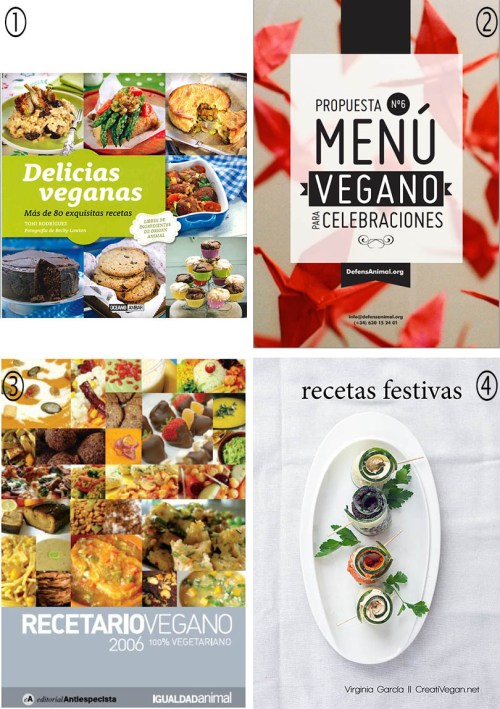 Recetarios veganos para navidad