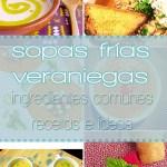Sopas frías veraniegas veganas - ingredientes comunes, recetas 100% vegetales e ideas - GastronomiaVegana.org