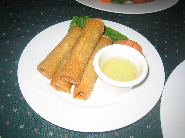 tasty thai vegi spring rolls