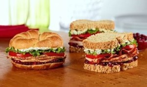 honey baked ham sandwiches