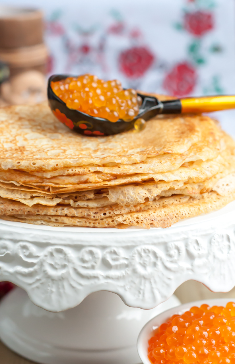 Maslenitsa, or the best crepes and blintzes recipes on the web
