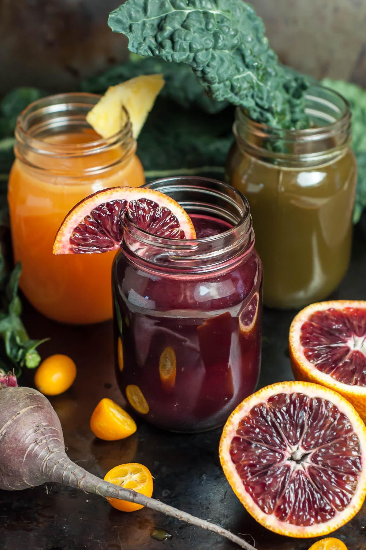 Homemade Winter Juices