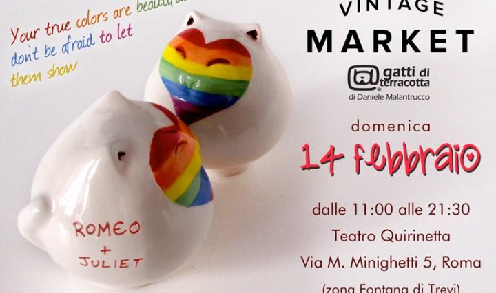 Vintage Market 14 febbraio Teatro Quirinetta - Roma