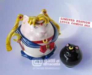 gatta Sailor Moon e Luna