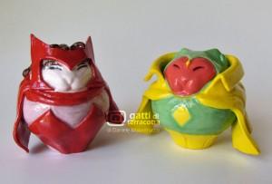 gatti Scarlet Witch e Visione