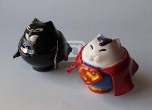 gatti Batman e Superman