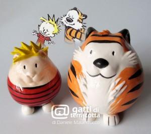 gatti Calvin e Hobbes