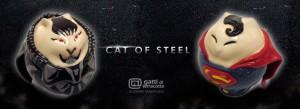 gatti Superman e Generale Zod