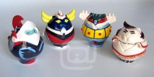 gatti Actarus, Goldrake, Jeeg Robot e Hiroshi