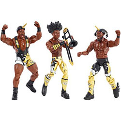 WWE Booty-O's New Day Tag Team Elite Figures