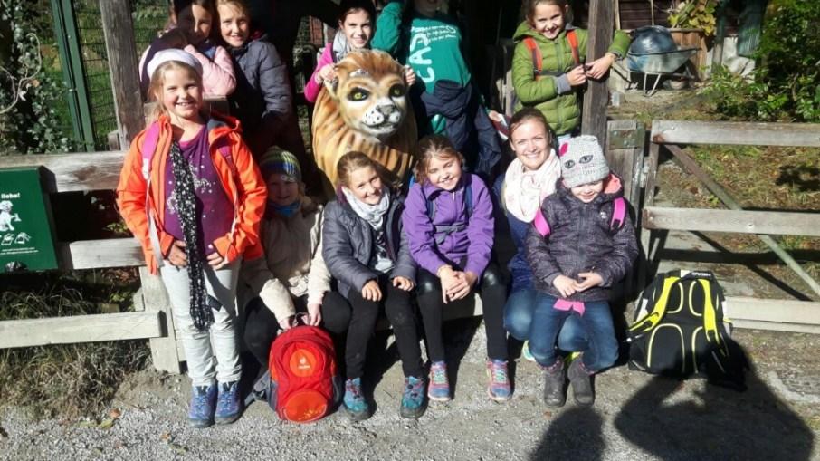 Kinderausflug zum Salzburger Zoo 07.10.2017