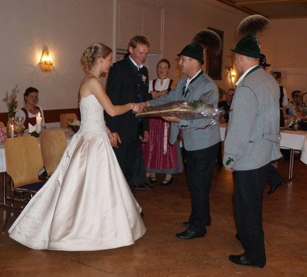 Hochzeit Johanna Stettner und Martin Weidacher 24.11.18 - mit Klaus Kollmannsberger und Lenz Obermüller