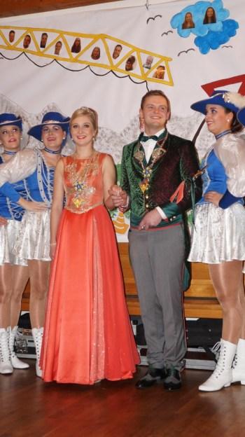 Faschingskranzl - Prinzessin Veronika und Prinz Jakob - 11.01.19