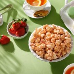 New Limited Time Recipe Simply Strawberry  from Garrett Popcorn Shops® To Sweeten Mother's Day