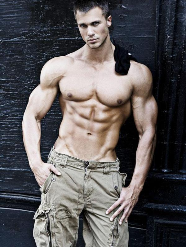 Tyler Davin 3 Beautiful Muscular Physique: Tyler Davin
