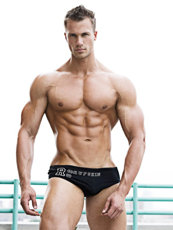 Tyler Davin Beautiful Muscular Physique: Tyler Davin
