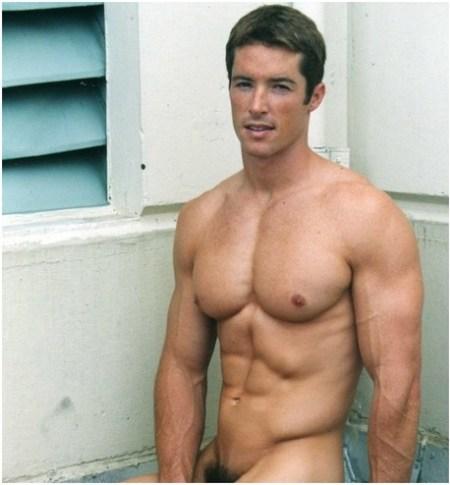Brent Van Zant Naked Fitness Hunk Brent van Zant