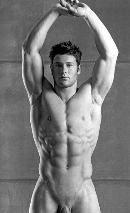 Athletic Nude Male Male Perfection by Photographer David Vance