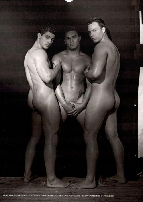 Dieux Du Stade - Rugby Men Naked