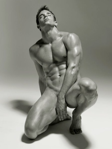 Hunk Body Naked Male Perfection by Photographer David Vance