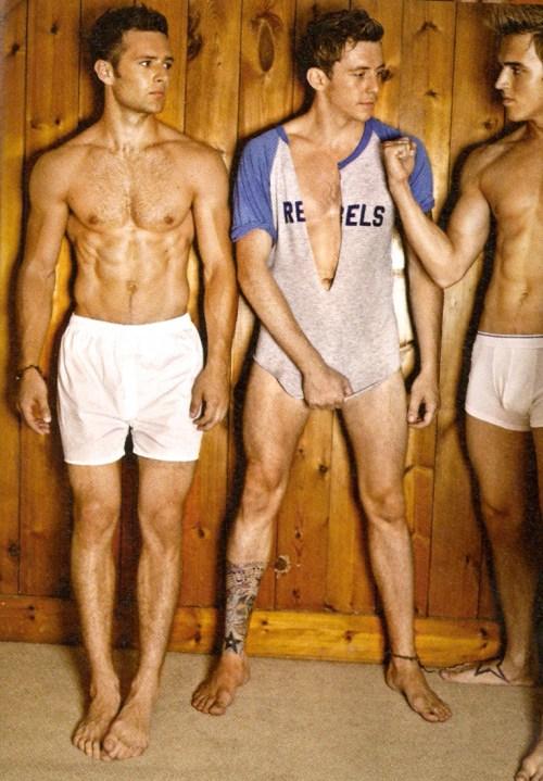 McFly Nude Shoot