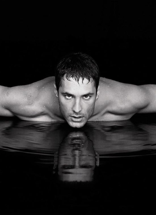 Raul Bova Soaked Hot Actor Raul Bova