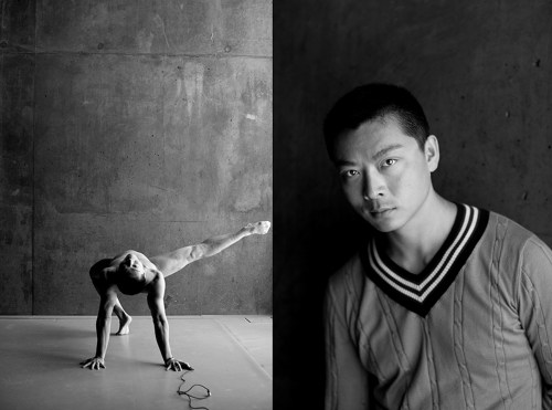 The Naked Dance by Yang Wang - Naked Male Dancing