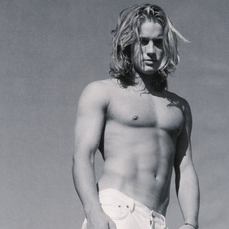 Travis Fimmel Shirtless Model and Actor Travis Fimmel
