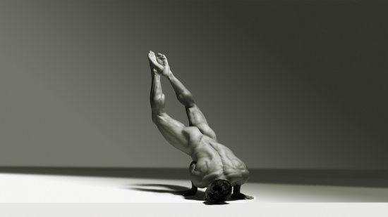 Derrick Davenport - Amazing Muscle Shot