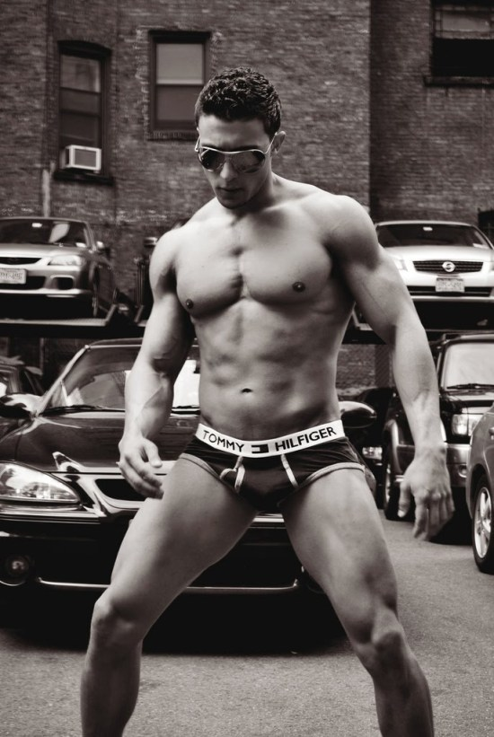 Matt Acton Muscle Jock 600x895 Matt Acton for Hilfiger