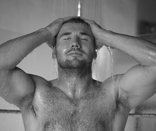 Ben Cohen In The Shower Gorgeous And Hairy Ben Cohen