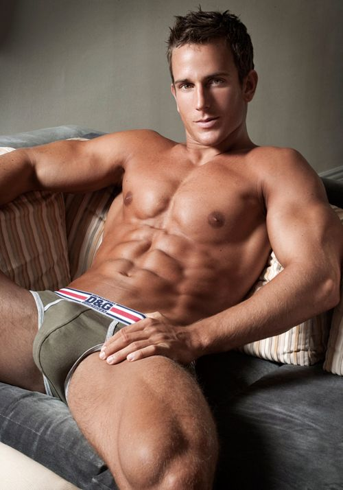 Jakub Stefano In Tight Underwear
