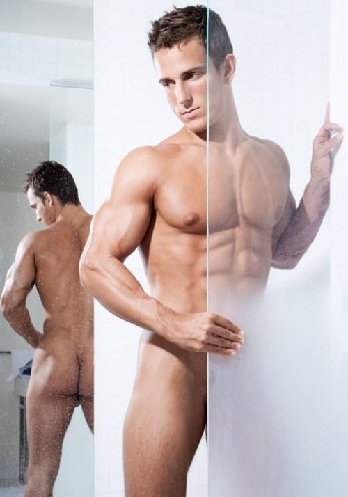 Jakub Stefano Posing Nude