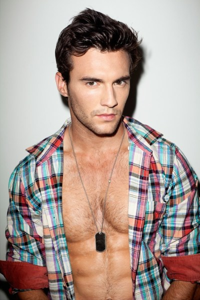 Hairy Hunk Jesse D Photographed By Wally Sparks