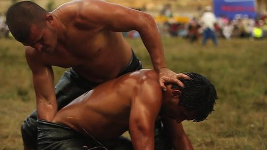 Turkish Male Oil Wrestling (8)