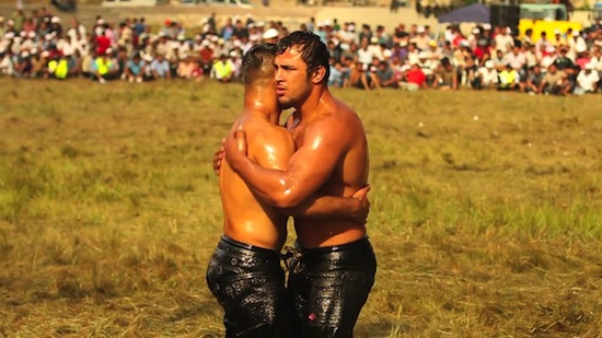 Turkish Male Oil Wrestling 5 You Think American College Wrestling Is Gay? You Aint Seen Nothing Yet!