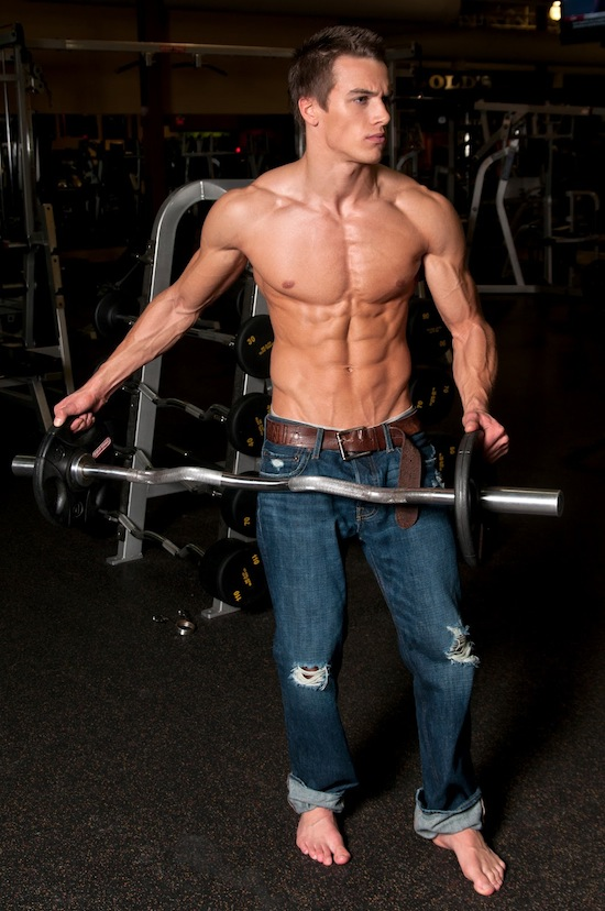 Muscled Fitness Model Marc Fitt 5 Muscled Fitness Model Marc Fitt!