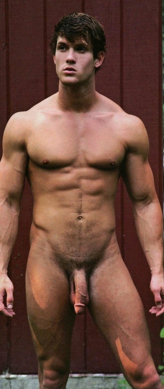 Male Model Leighton Stultz Naked (4)