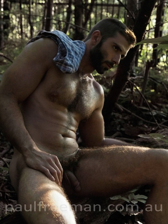 Hairy And Rugged Men Naked (3)