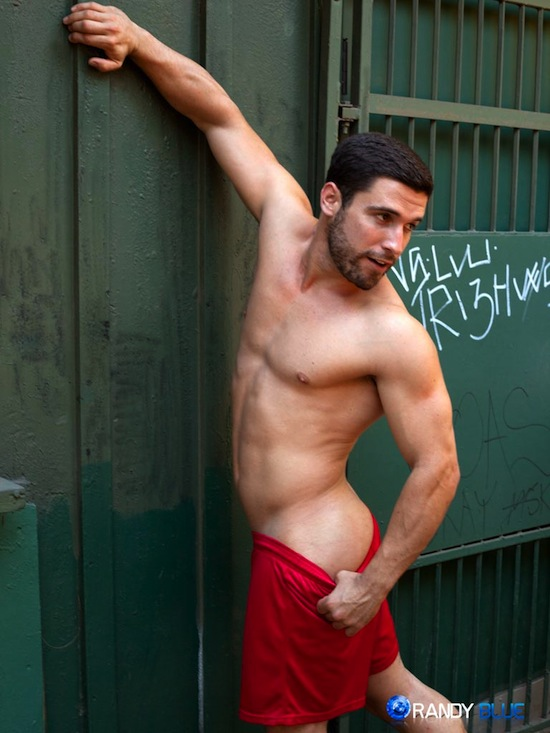 Jerking It With Butch Hunk Matt Castro (3)
