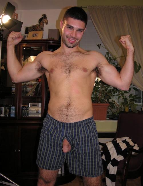 Guys Flashing Or Caught Naked (3)