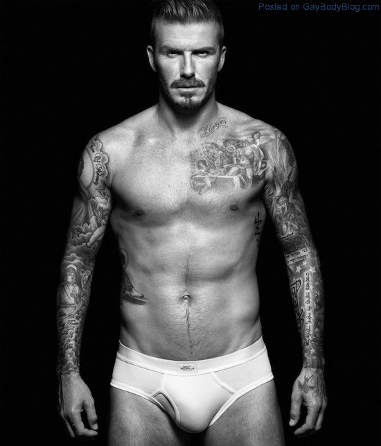 Pics of hunk David Beckham in underwear for H&M (1)