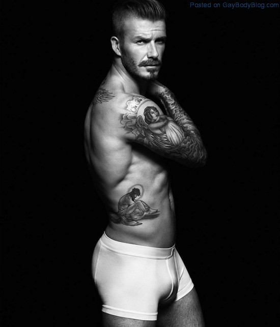 Pics of hunk David Beckham in underwear for H&M (2)
