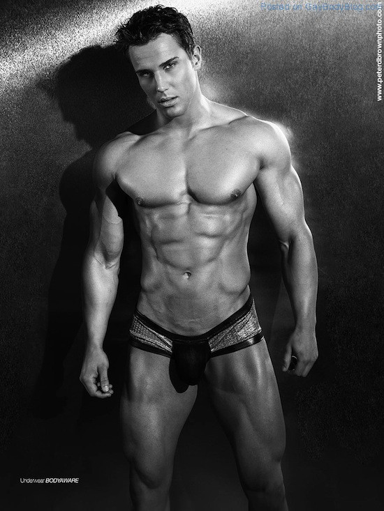 Classic Photography With Handsome Jock Christian Bok 3 Classic Photography With Handsome Jock Christian Bok